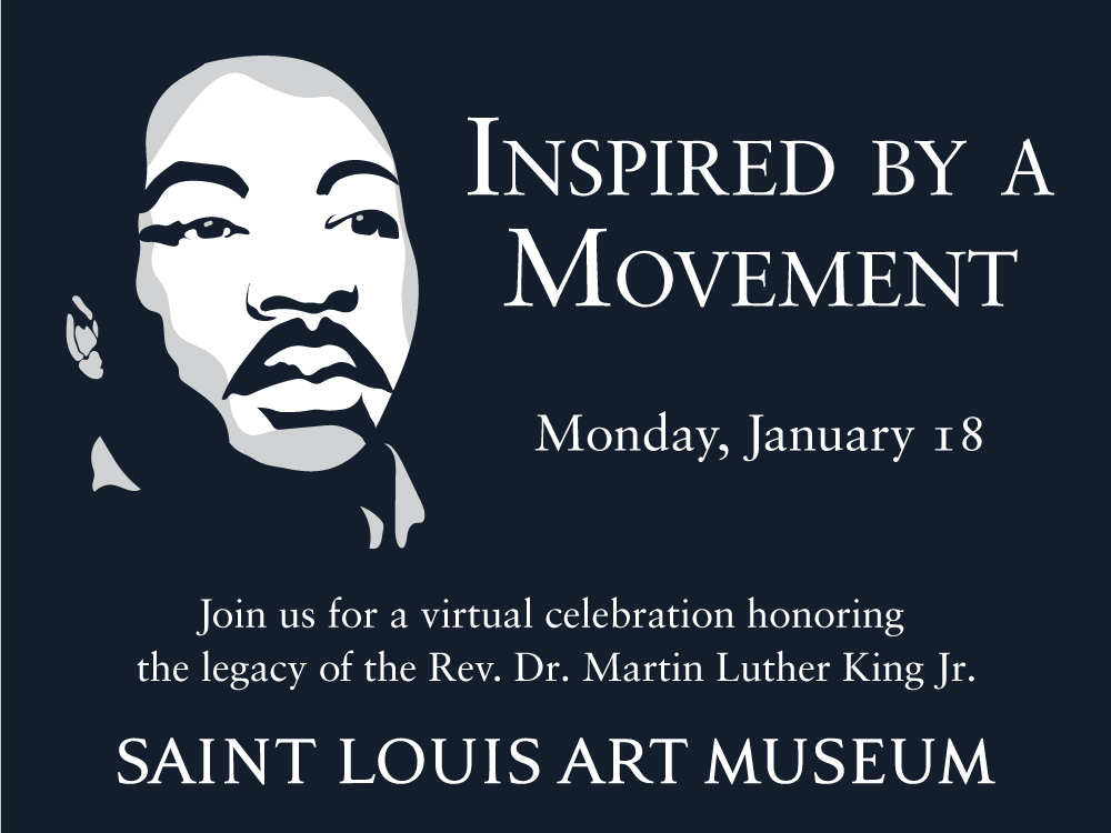 Join us for a virtual celebration honoring the legacy of the Rev. Dr. Martin Luther King Jr.