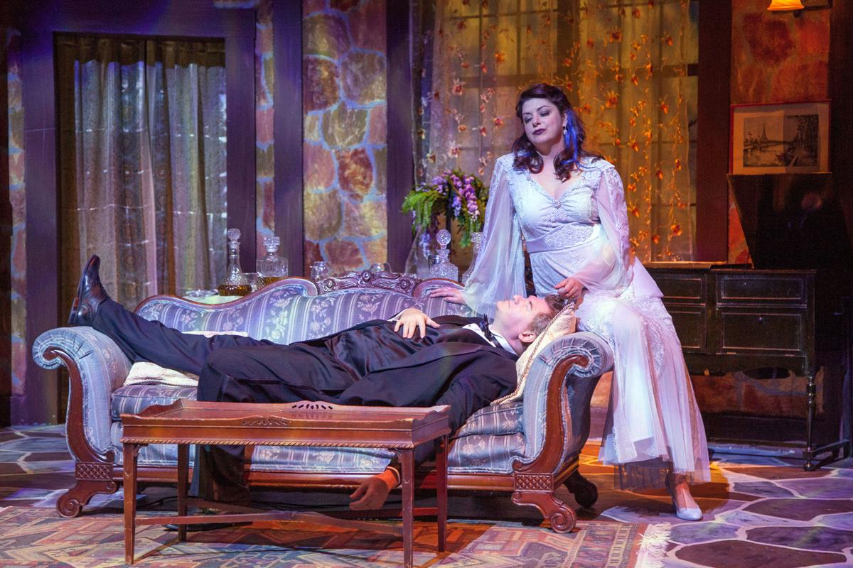 'Blithe Spirit' at Act Inc in St Charles, Photo by John Lamb