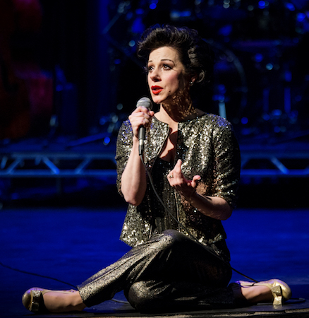 Angela Ingersoll performs as the legendary Judy Garland, Photo courtesy of Artists Lounge Live