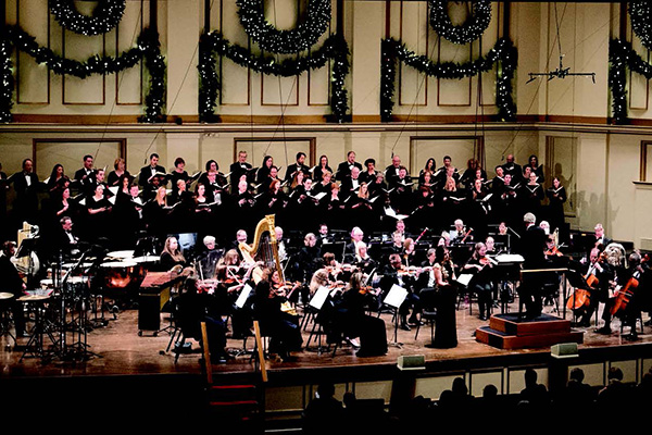 The Bach Society Of Saint Louis Rings In Christmas