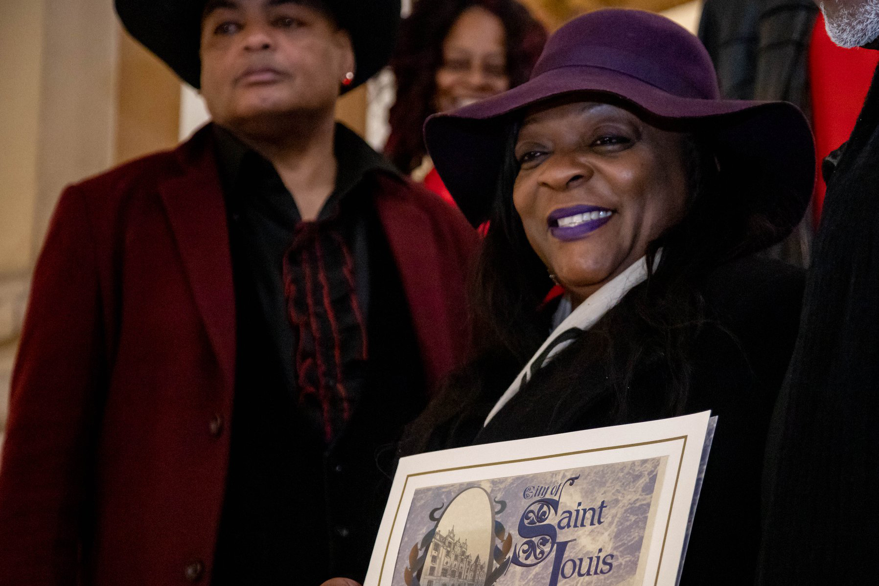 Jacinta Branch Griffin, who performs as Hy-C. Photo by Glenn Reigelman / National Blues Museum.