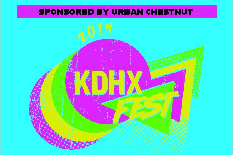 KDHXFest. Graphic by Ronnie Wisdom.