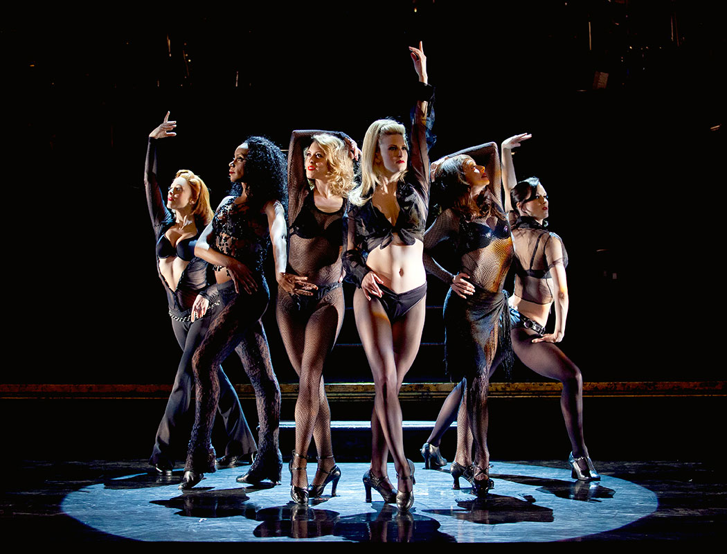 The touring production of 'Chicago' dances in perfect synchronicity, promotional photo courtesy of Chicago the Musical