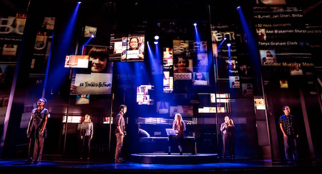 The touring production of 'Dear Evan Hansen,' Photos courtesy of Matthew Murphy.