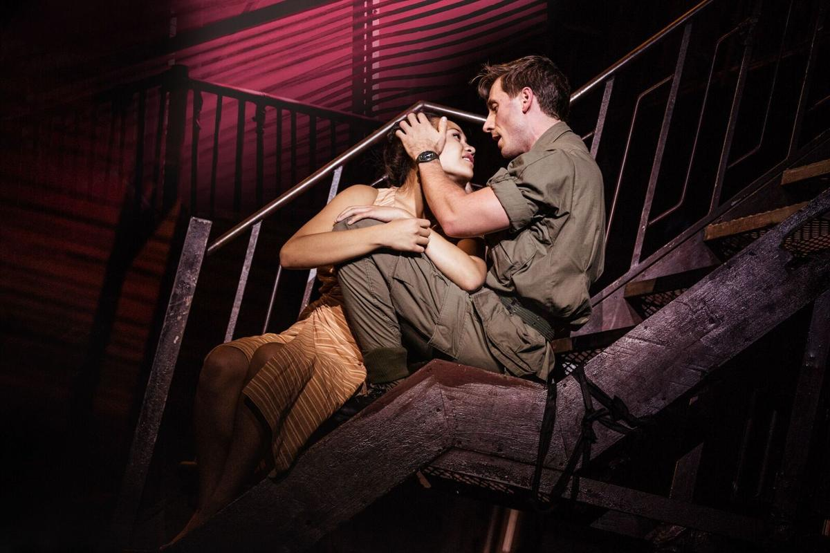 The touring production of 'Miss Saigon,' at the Fabulous Fox Theatre, St. Louis, photo courtesy of Matthew Murphy and Johann Persson