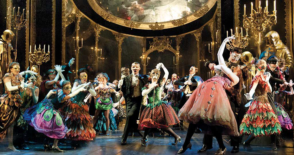 The ensemble in the touring production of 'Phantom of the Opera,'Photo courtesy of Matthew Murphy