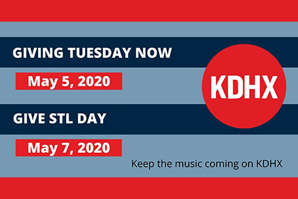 Help KDHX Support The Region's Cultural Landscape