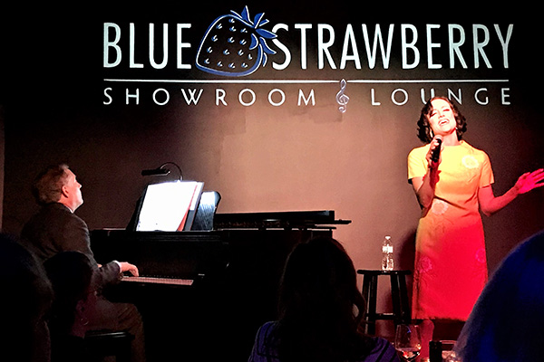 Katie Karel at The Blue Strawberry