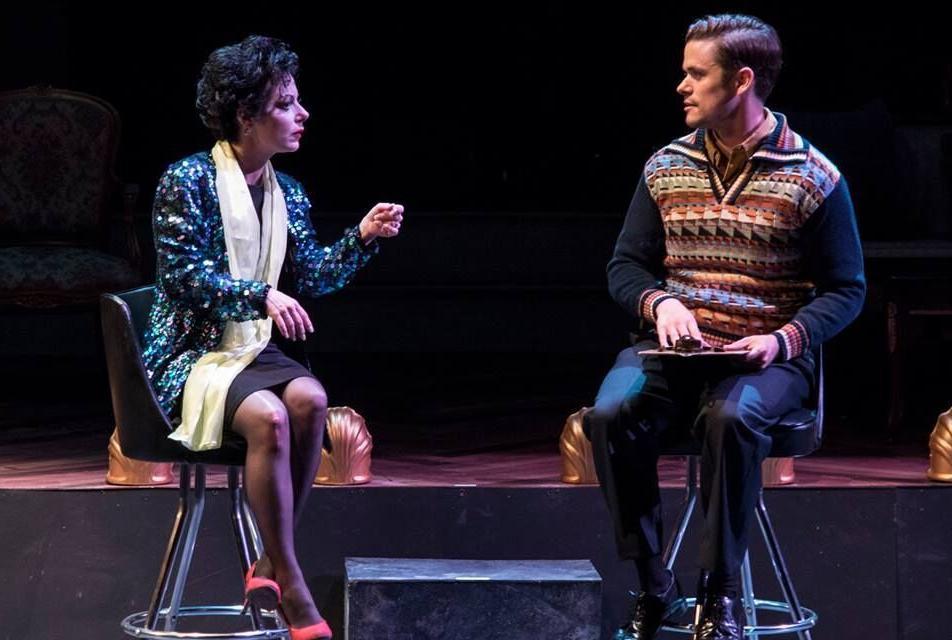 Angela Ingersoll and Paul Cereghino in 'End of the Rainbow,' Photo by John Lamb