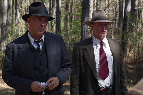 'The Highwaymen.' Film review by Diane Carson.