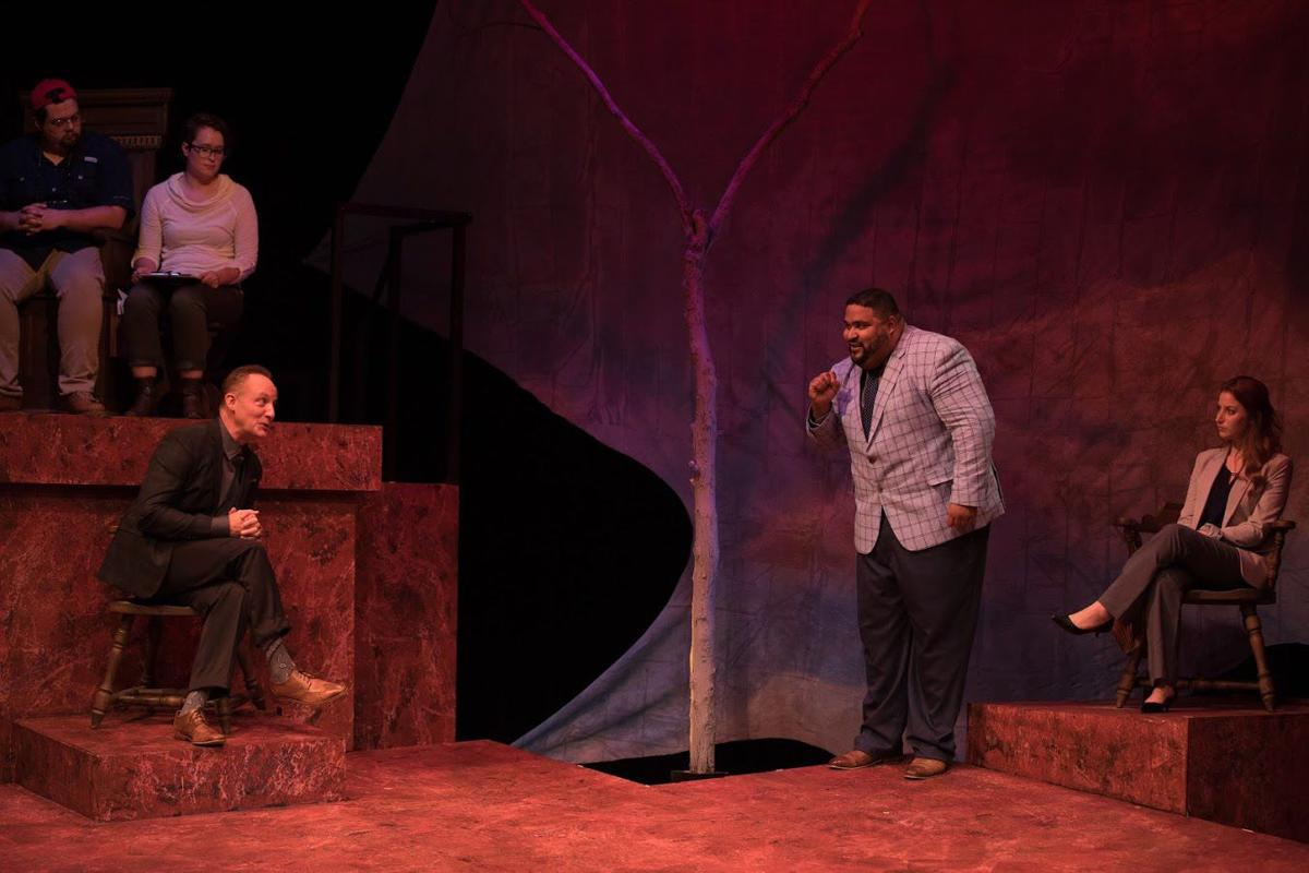 'The Last Days of Judas Iscariot' at Mustard Seed Theatre, Photo by John Lamb