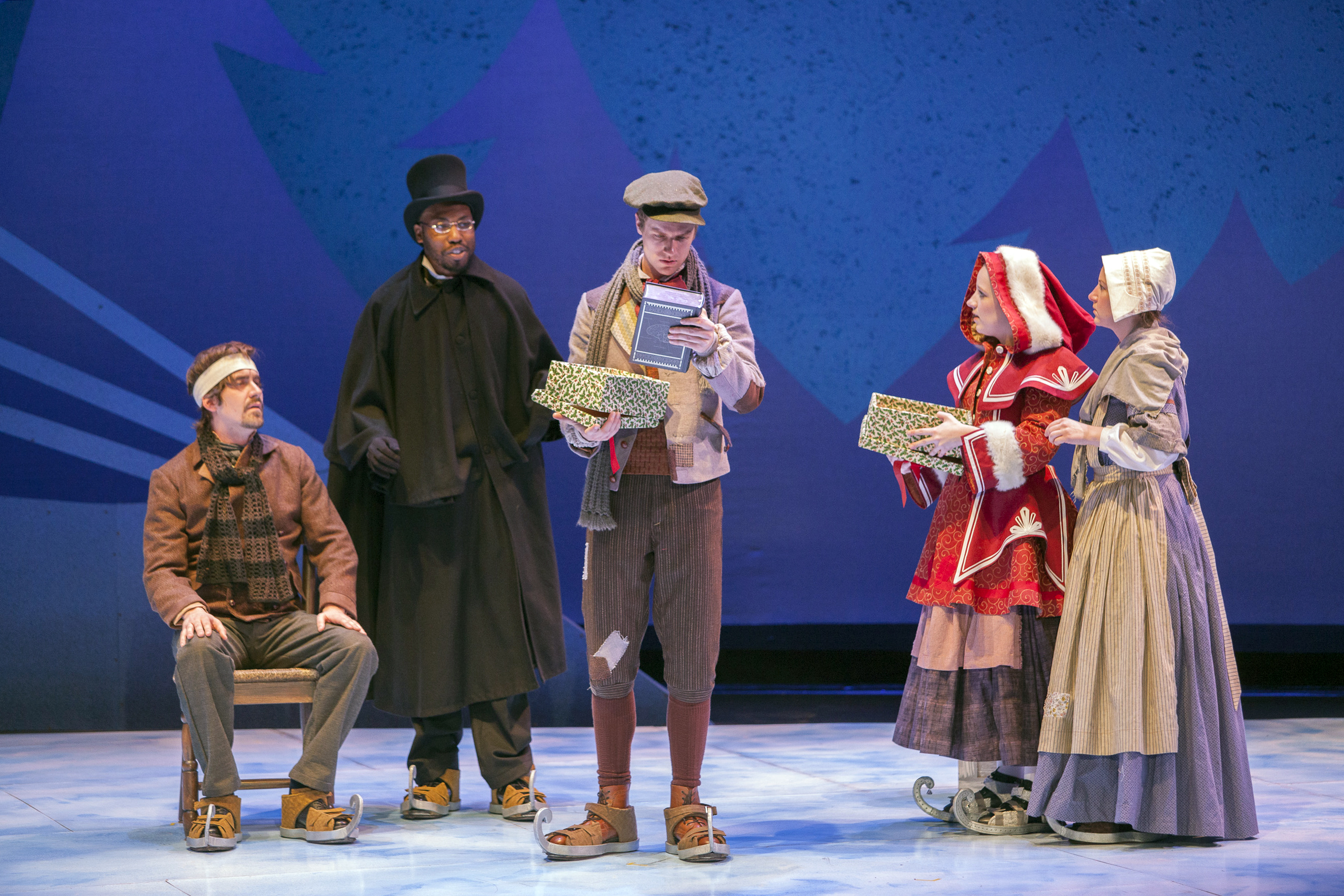 Photo from 'Hans Brinker and the Silver Skates' Metro Theater Company