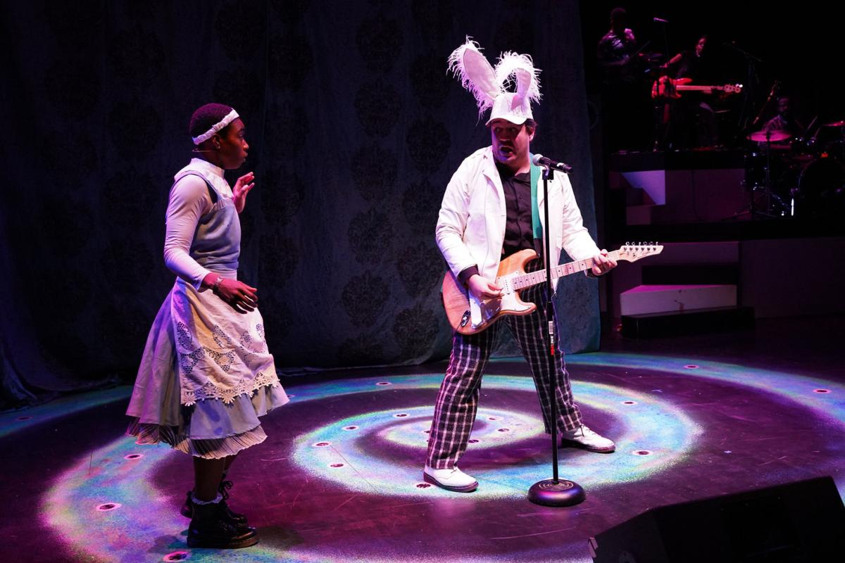 'Wonderland Alices Rock and Roll Adventure' at Metro Theater, photo by Ron James