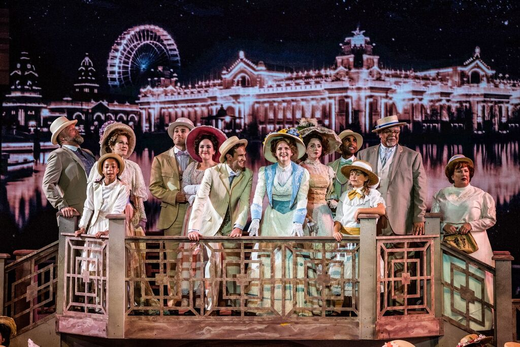 'Meet Me in St Louis' at the Muny, Photo by Philip Hamer