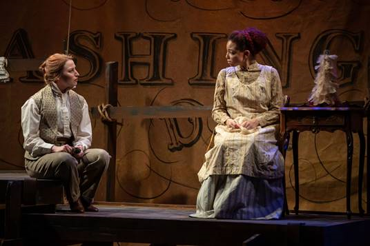 A scene from the New Jewish Theatre production of 'District Merchants,' Photo courtesy of Eric Woolsey