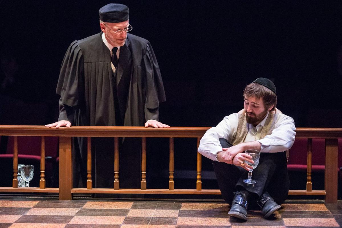 A scene from New Jewish Theatre's production 'New Jerusalem,' Photo by Eric Woolsey