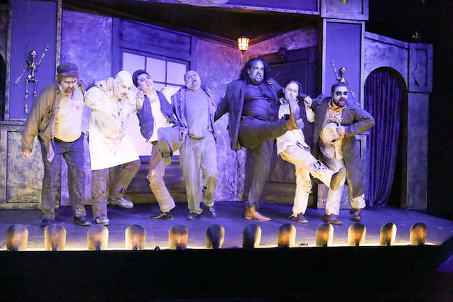 'The Zombies of Penzance' at New Line Theatre, Photo by Jill Ritter Lindberg