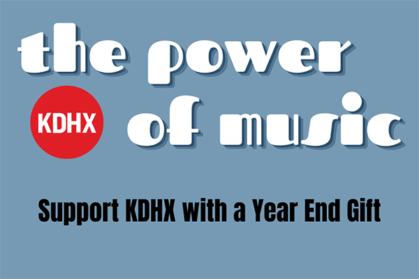 Support KDHX With A Year End Gift