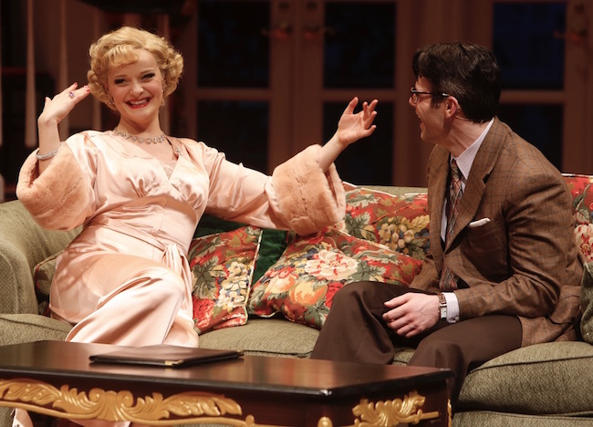 A scene from 'Born Yesterday' at The Repertory Theatre of St Louis, Photo by Jerry Naunheim, Jr