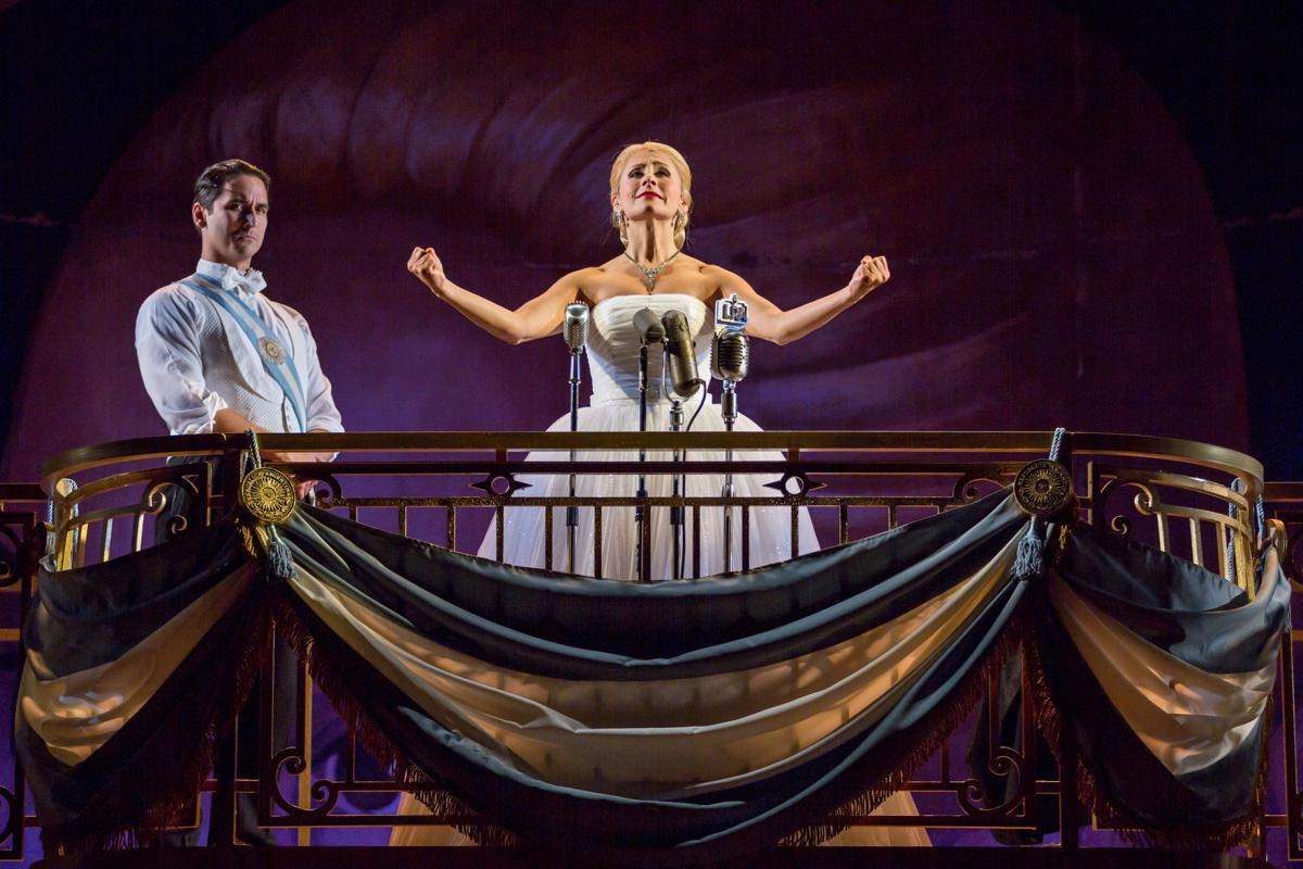 'Evita' at the Repertory Theatre of St Louis, Photo by Eric Woolsey