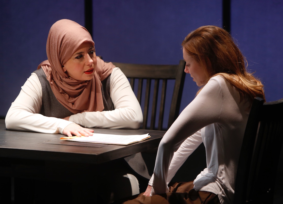 Photo from The Repertory Theatre of St Louis production 'Faceless'