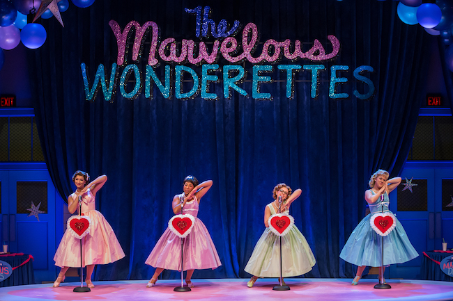 Photo from 'The Marvelous Wonderettes' at the Rep through January 21