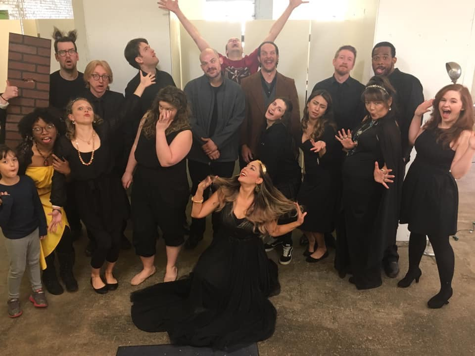 The cast of Blind Pigs' 'A Midsummer Night's Dream,' photo courtesy of Stephanie Merritt.