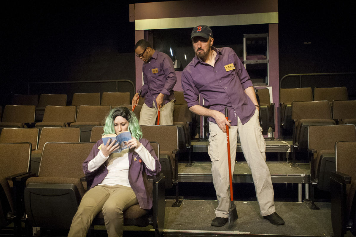 Photo from R-S Theatrics production of The Flick