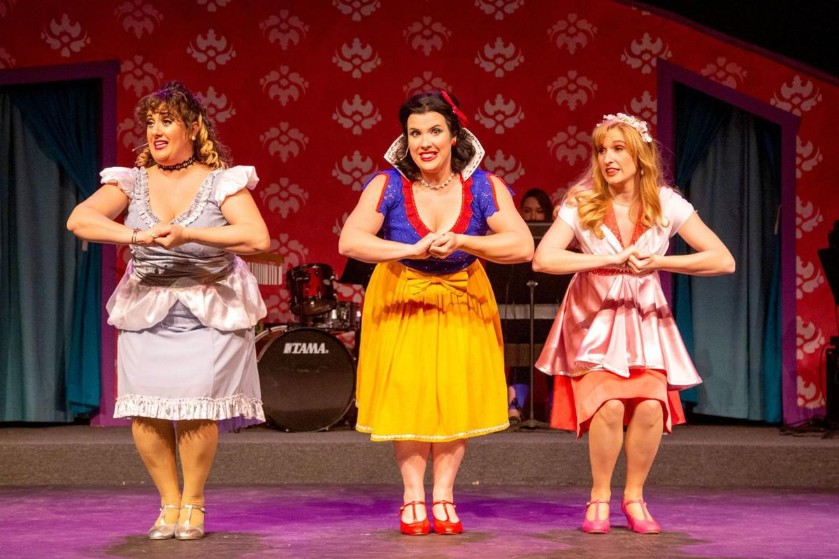 A scene from 'Disenchanted,' an offbeat holiday musical from Stray Dog Theatre, photo courtesy of the company.