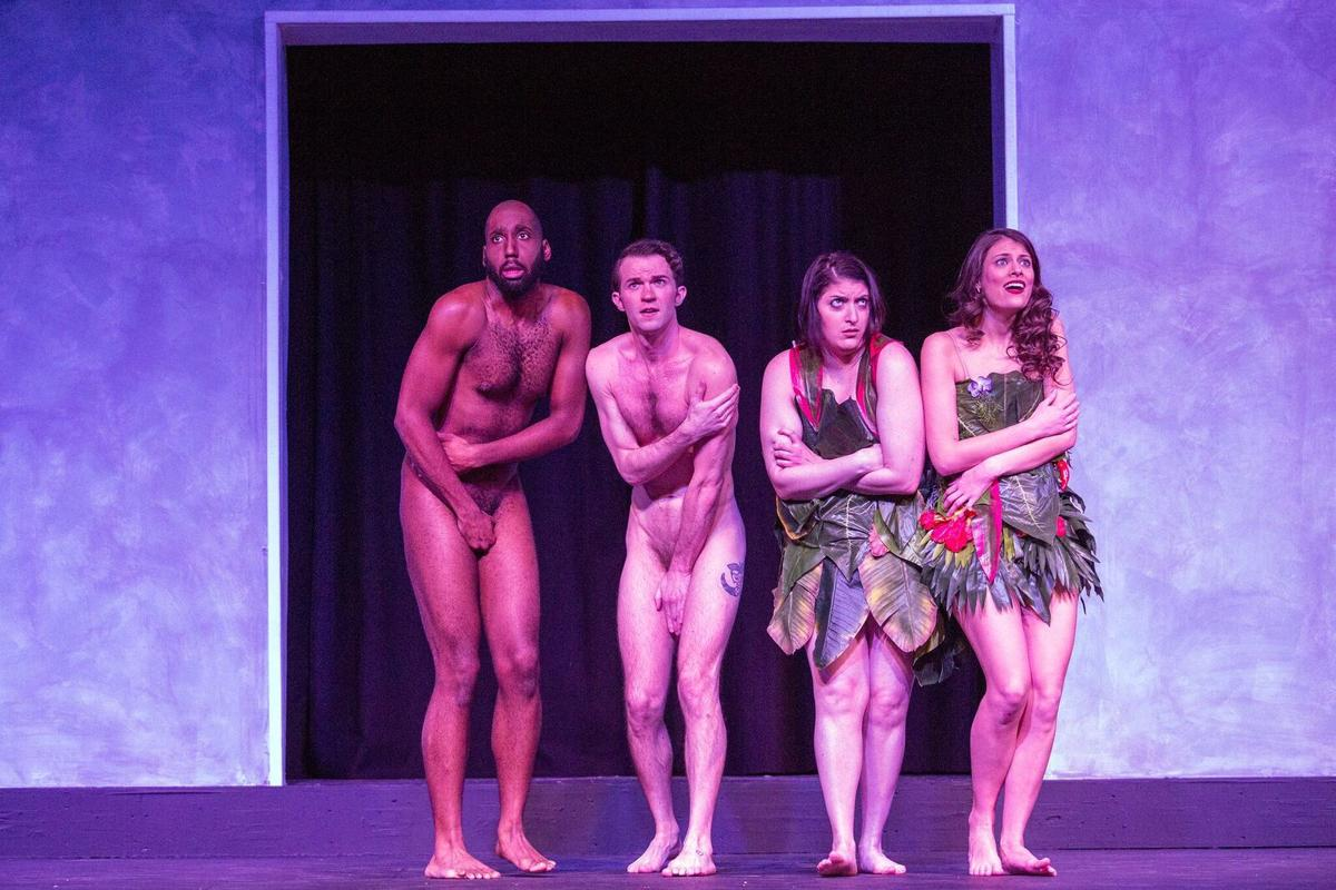 Stray Dog Theatre presents 'The Most Fabulous Story Ever Told,' photo by John Lamb