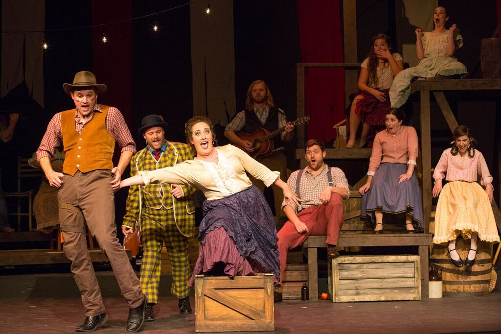 'The Robber Bridegroom' at Stray Dog Theatre, Photo by John Lamb