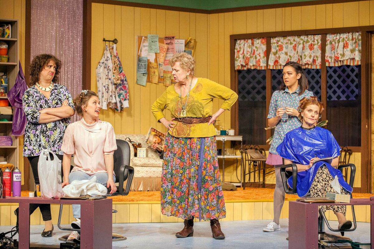 Photo from Stray Dog Theatre production of Steel Magnolias