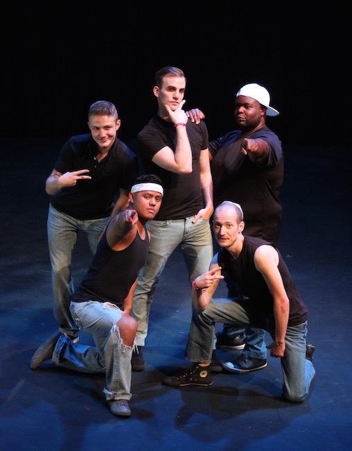 The 'Altar Boyz,' at the Kranzberg Arts Center through July 22, Photo by Tyler Gruen