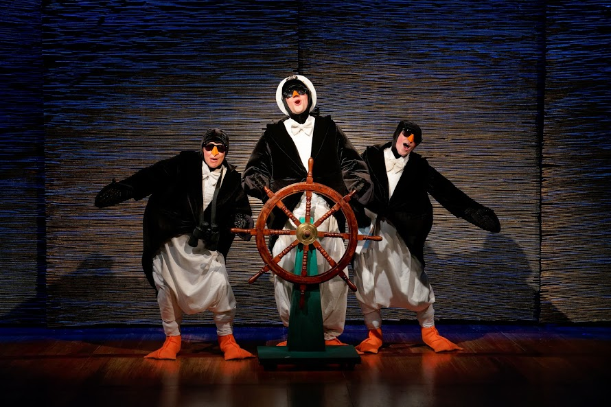 A scene from 'Madagscar, a musical adventure,' Photo courtesy of STAGES St Louis