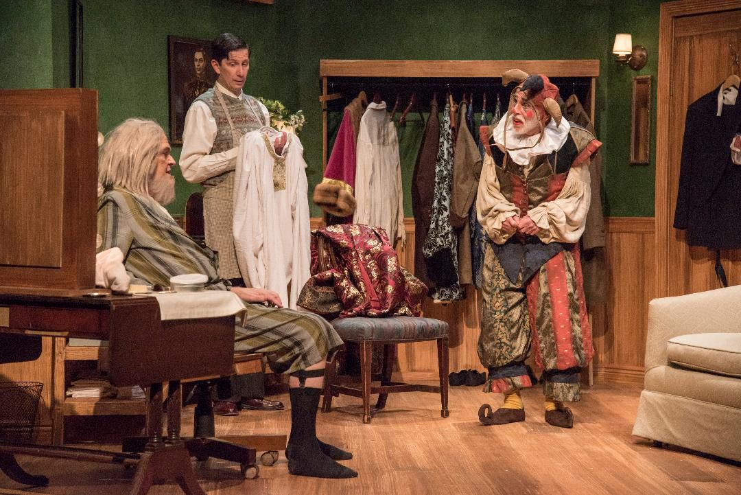 A scene from 'The Dresser' at St Louis Actors Studio, Photo by Patrick Huber