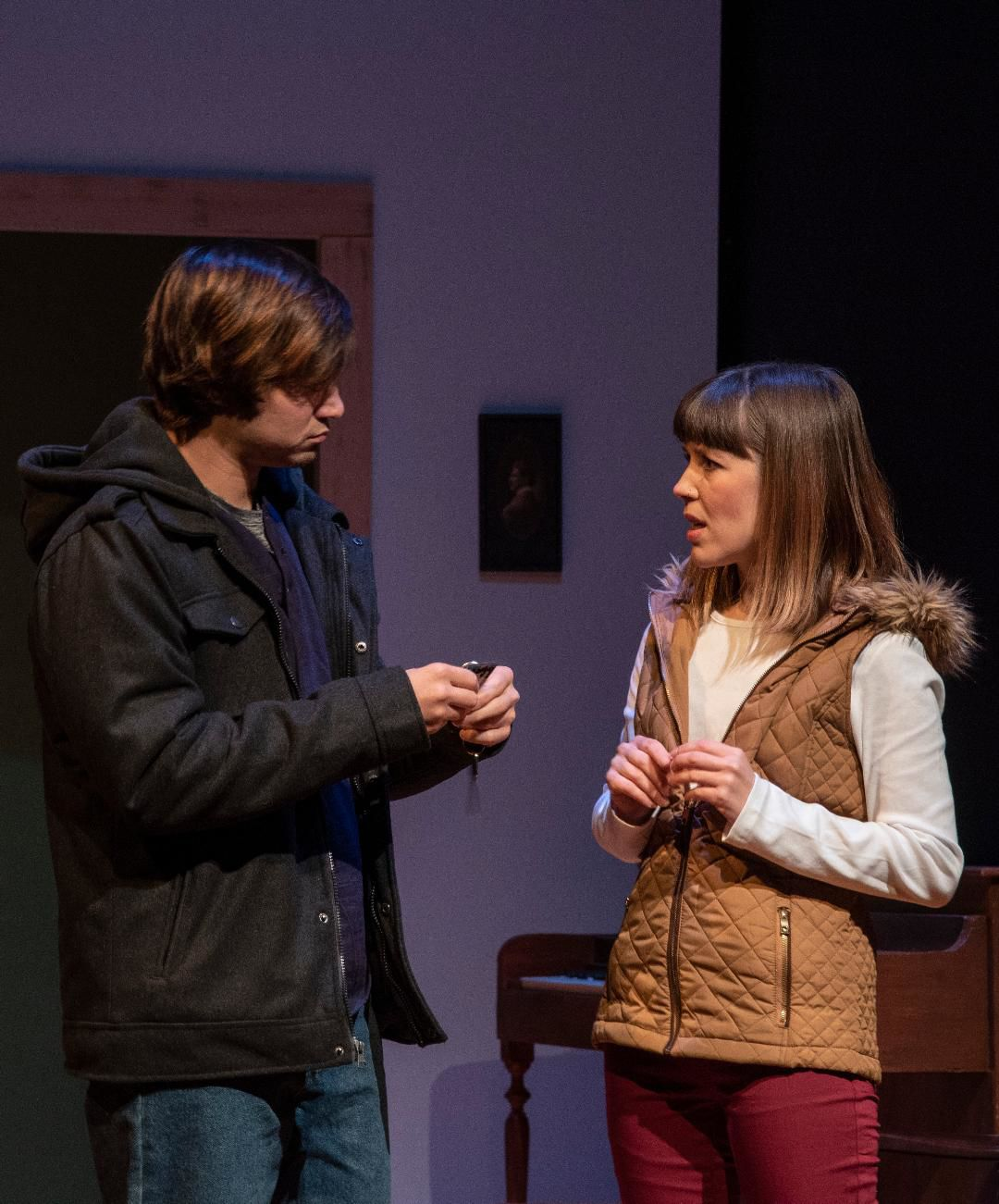 'Tribes' in performance at St Louis Actors' Studio, photo by Patrick Huber