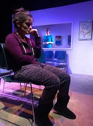 Tesseract Theatre Company presents 'Cold,' a new play be Ben Jolivet, Photo by Brittanie Gunn
