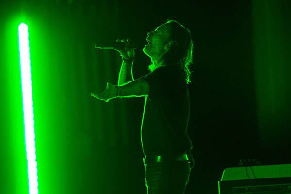 Thom Yorke at Stifel Theater. Photo by Karl Beck.