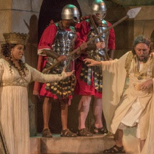 'Nabucco' at Union Avenue Opera, Photo by John Lamb