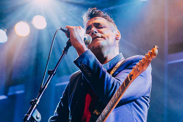 Devotchka frontman, Nick Urata. Concert review by Annah Bender.