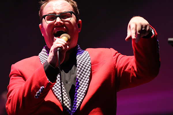 Paul Janeway of St. Paul and the Broken Bones. Photo by KDHX Staff.