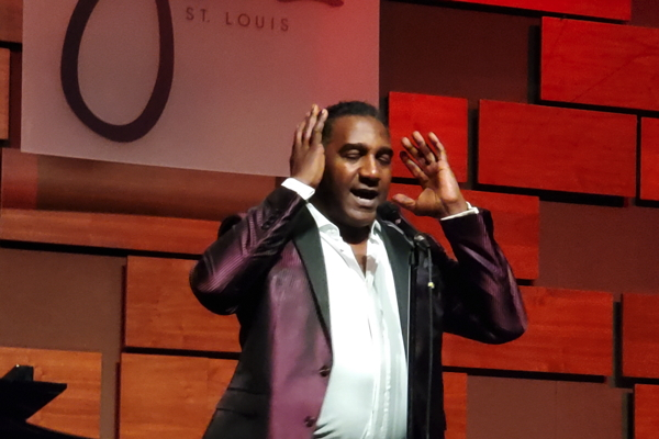 Norm Lewis at Jazz St. Louis. Photo by Anna Blair.