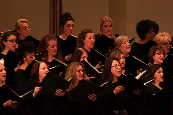 Members of the SLSO Chorus. Photo courtesy of the SLSO.
