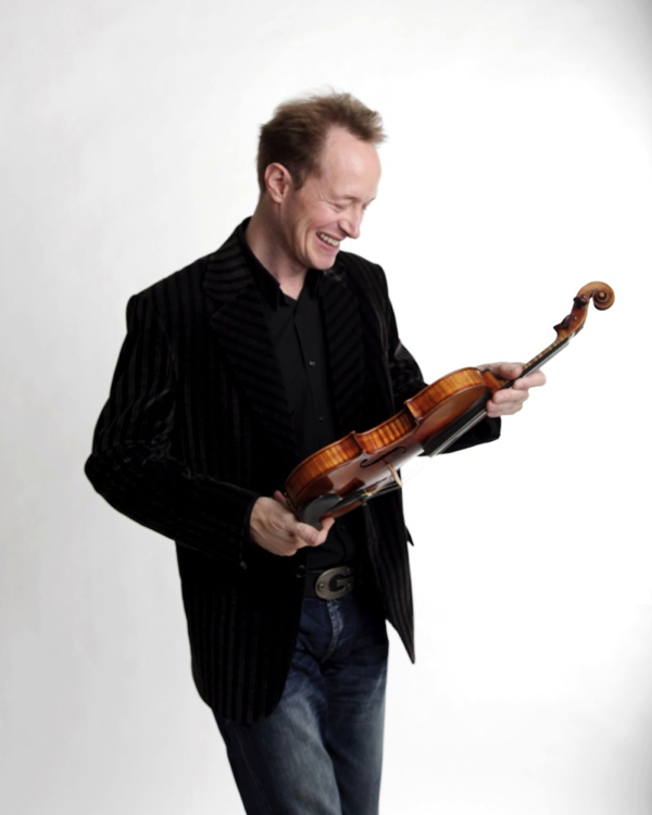 Anthony Marwood with violin