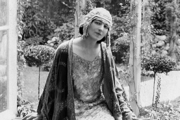 Dancer Ida Rubenstein in 1922.