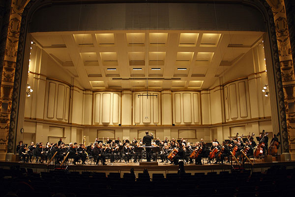 St. Louis Symphony Orchestra - Photo by Scott Ferguson