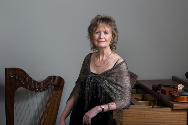 Composer Sally Beamish. Photo by Ashley Coombes