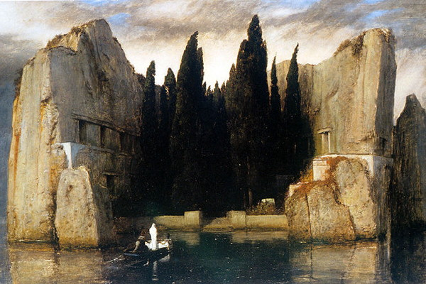 Arnold Böcklin's 'Island of the Dead,' third version