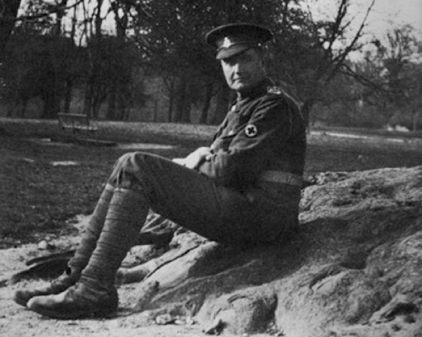 Ralph Vaughan Williams in the army in 1915
