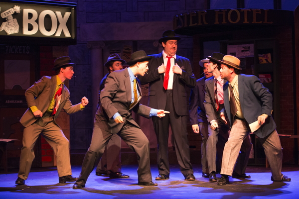"""Guys and Dolls"" at Stray Dog Theatre. Photo by John Lamb"